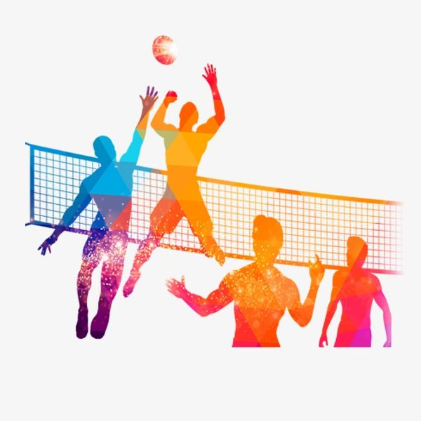 Os Jogos De Voleibol Personagens O Voleibol O Jogo Png Image And Clipart Voleibol Jogos De Volei Imagens De Volei