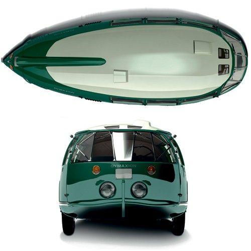 Norman Foster's rebuilt Dymaxion.