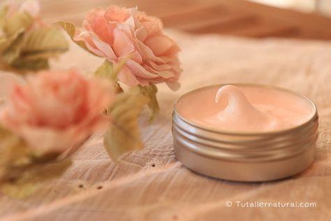 Nata corporal de karité, aloe, frambuesa y rosa