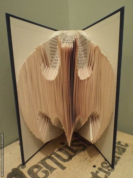 Batman Free Book Folding Pattern