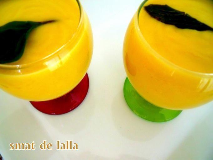 Recette : Creme de courgette jaune par Rene