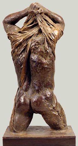Torso legato 1989, bronzo, Caroline Van Der Merwe http://musapietrasanta.it/content.php?menu=artisti
