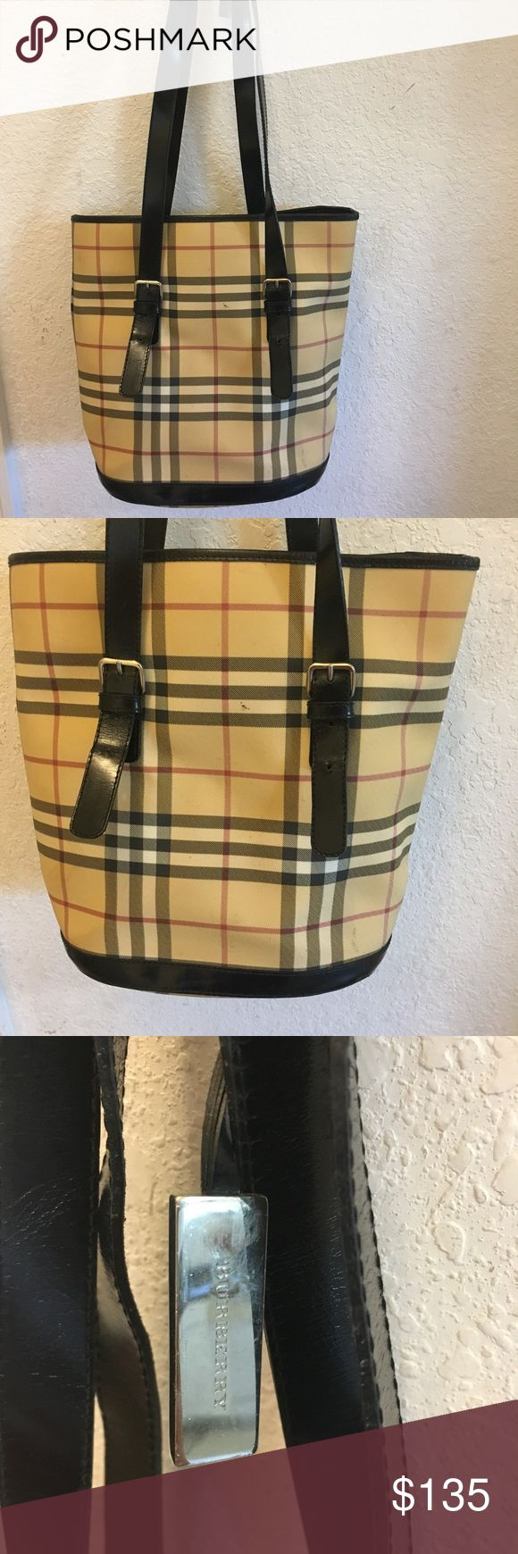 Authentic Burberry tote shoulder bag👛👠 Burberry tote