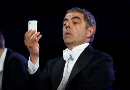 SAMSUNG (Worst): Here's a fact you may have missed ... the phone the Rowan Atkinson used during his comedic interlude in the Opening Ceremonies was actually a Samsung - not an iPhone. What a golden missed product placement opportunity - which could have been solved by getting him a phone in any other color than white.: Color