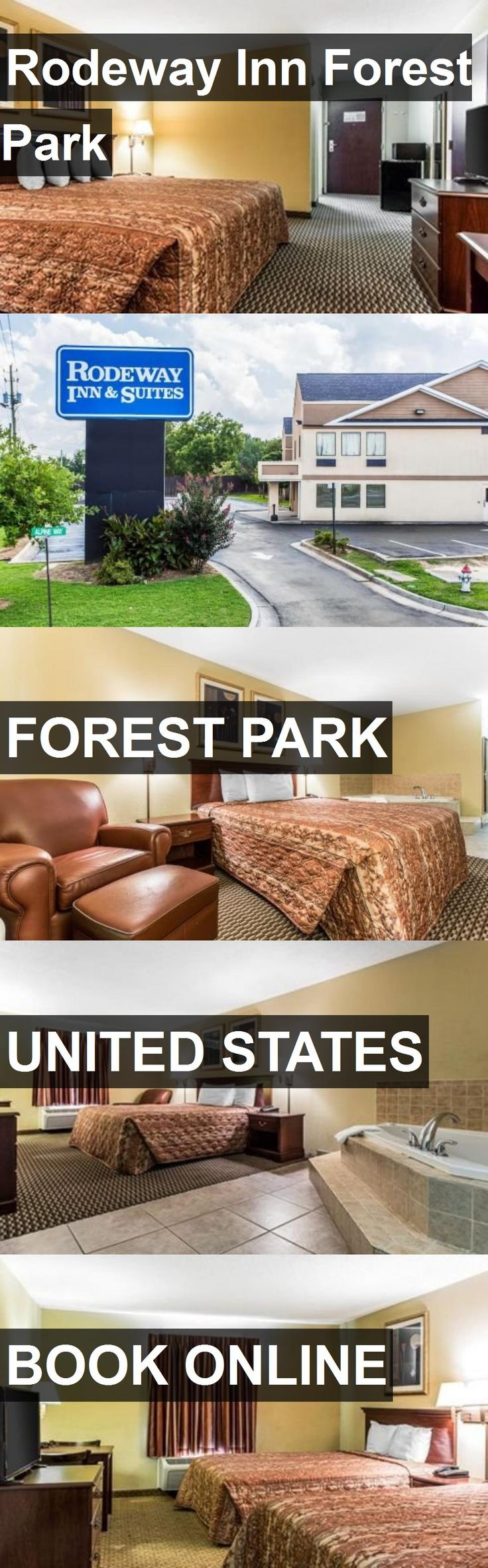 Hotel Rodeway Inn Forest Park in Forest Park, United States. For more information, photos, reviews and best prices please follow the link. #UnitedStates #ForestPark #travel #vacation #hotel
