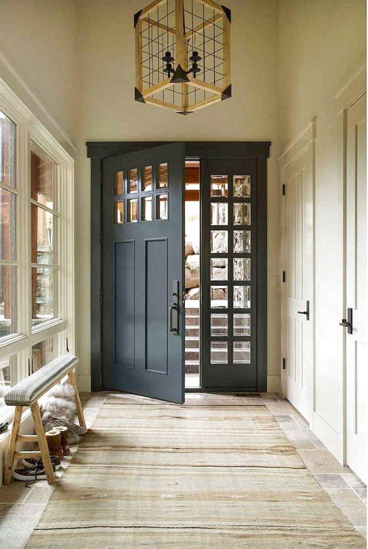 Interesting House Exterior Design In Kulai Malaysia: Door Design Interior, Painted Front Doors, Front