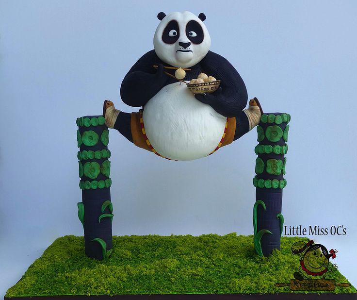 "kung fu panda cake   by Little ""Miss"" OC's Kitchen"