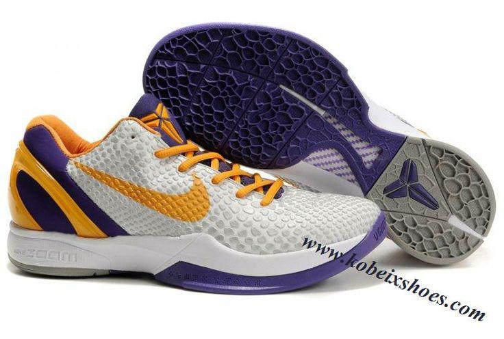 Nike Zoom Kobe 6(VI) Black Orange Purple