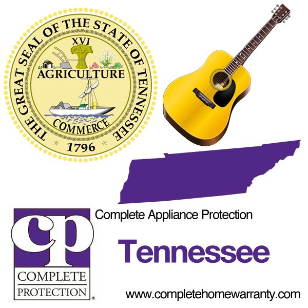 Tennessee Home Warranty - Complete Appliance Protection - Best Home Warranty Reviews - Call 1-800-978-2022 - Tennessee Home Warranty