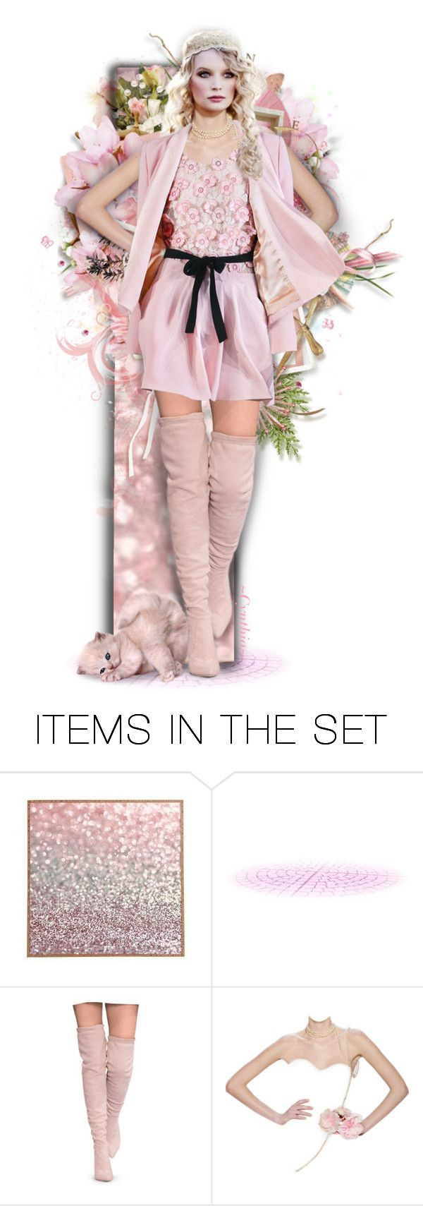 Pink...with Attitude  by cindu12 on Polyvore featuring art