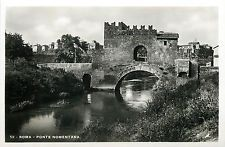 Italy 1930s Real Photo Postcard Roma Rome - Ponte Nomentana
