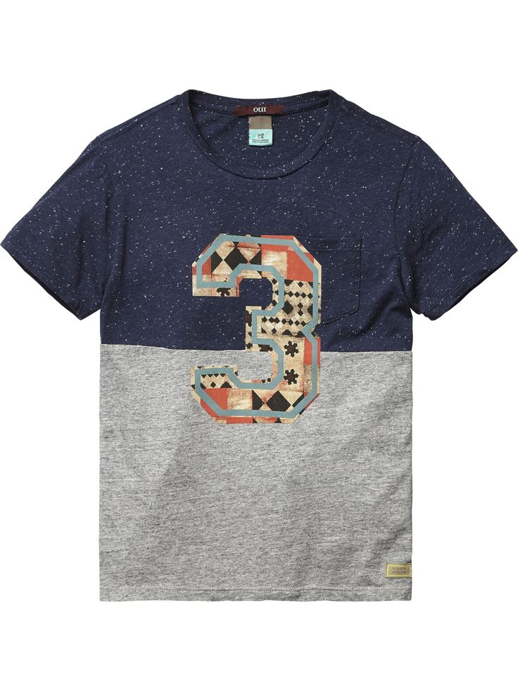 Pocket T-Shirt | Jersey s/s tee's & tops | Boy's Clothing at Scotch & Soda