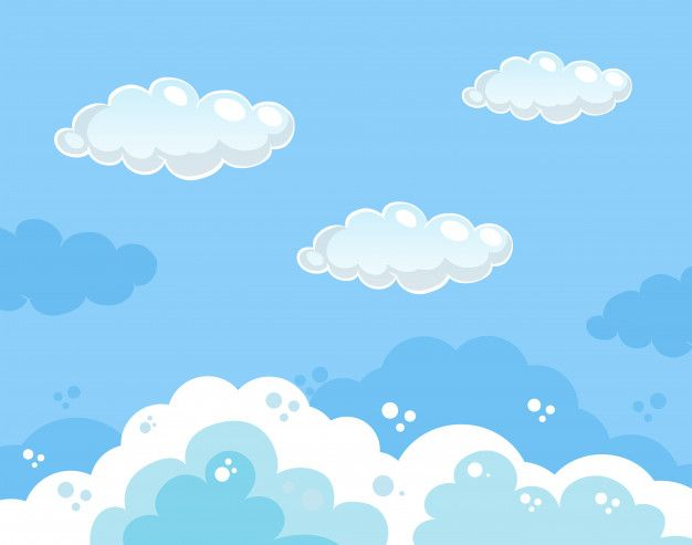 Beautiful Clouds Clip Art Free