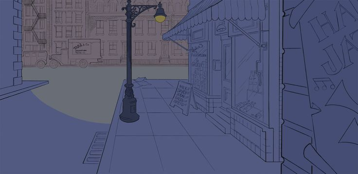 Fantasia 2000 (1999): Rhapsody in Blue - Backgrounds