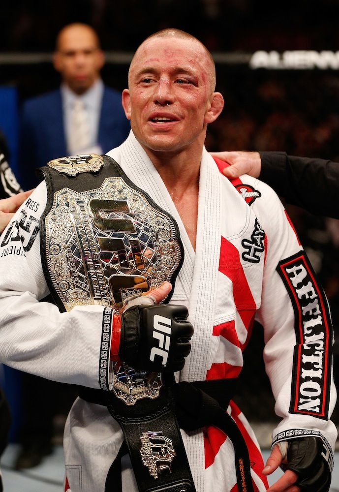 And still!!!! St-Pierre Shuts Out Diaz at UFC 158