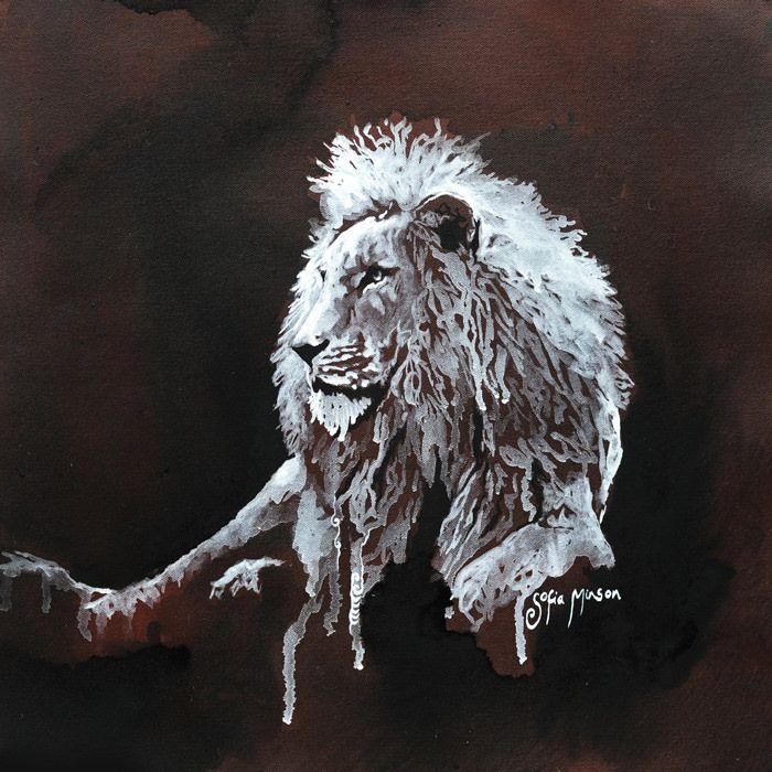 Mauri-of-the-Lion-sofia-minson-new-zealand-artwork