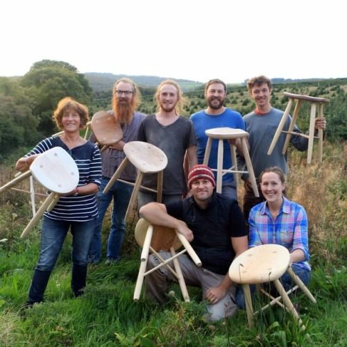 Weekend stool making course. New course dates added for April...