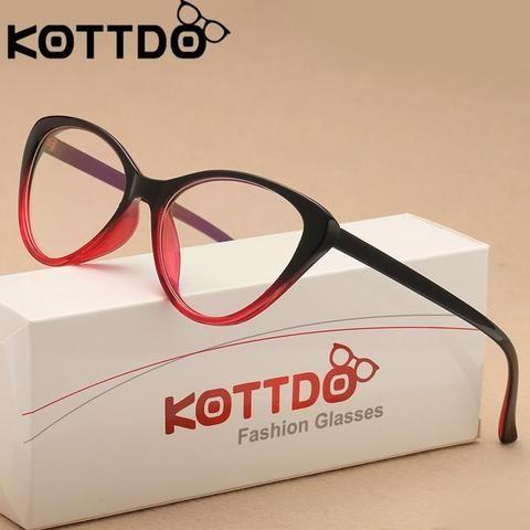 3b148eaa390 2018 fashion Vintage Cat Eye Glasses Frame Eyeglasses Women Reading  Glassesmodlilj