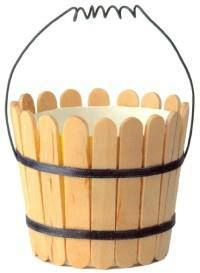 Lolly stick pail.               Gloucestershire Resource Centre http://www.grcltd.org/scrapstore/