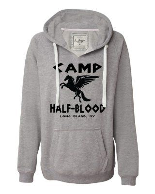 Camp half-blood sweatshirt to warm the winter nights at camp :)