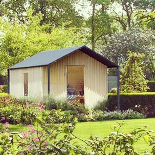 14 best Les cabanons images on Pinterest Lean to shed, Wood cabins - espacement plot beton terrasse