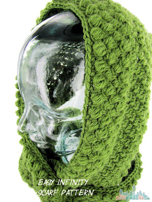 Crochet Infinity Scarf Free Tutorial : Crochet Infinity Scarf Pattern and Tutorial