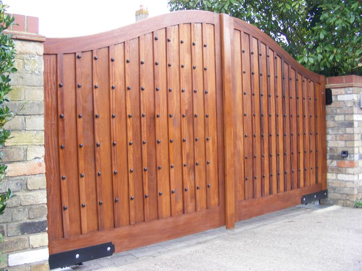 17 best images about gates on pinterest wooden gates for Wooden main gate design