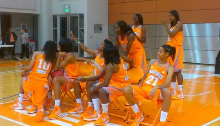 UT Lady VOLS University of Tennessee Lady Volunteers  2012-2014 Basketball Team