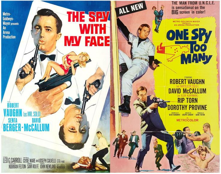 New Beverly Cinema - November 21 & 22: The Spy With My Face // One Spy Too Many