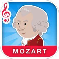 Mozart - Radio Classique od vývojáře Radio Classique Mozartův život v jednoduché angličtině, jsou tam i jiné jazyky.