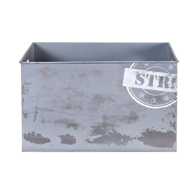 Opbergmand Ties van lief!: stoere opbergbox voor speelgoed #kinderkamer #decoratie