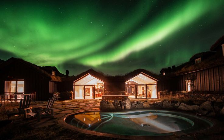 Take a Steamy Bath Under the Northern Lights at This Remote Icelandic Hotel | Travel + Leisure