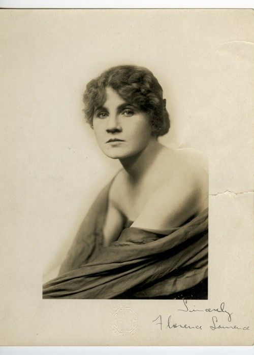 Florence Lawrence (First Movie Star; the Biograph Girl) - Actress ...