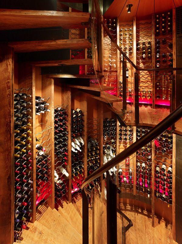 Staircase Ideas | Wall Art | Bottle Decor | Storage Ideas | Wine Cellar | Custom Design | Home Ideas