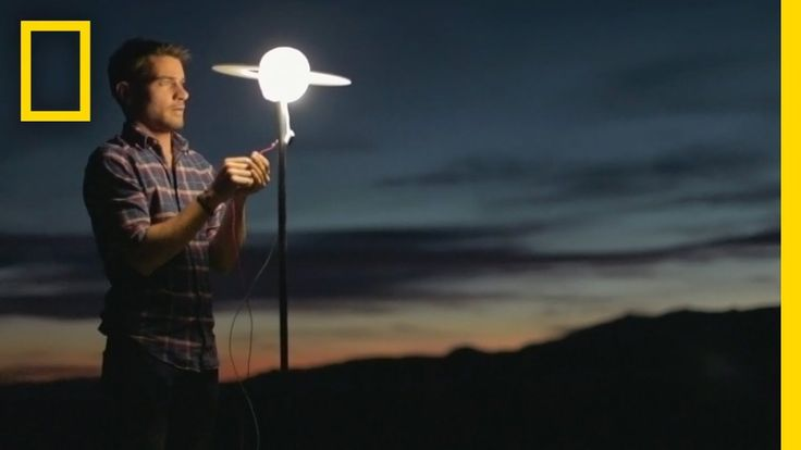 Watch This Guy Build a Massive Solar System in the Desert | Short Film S...