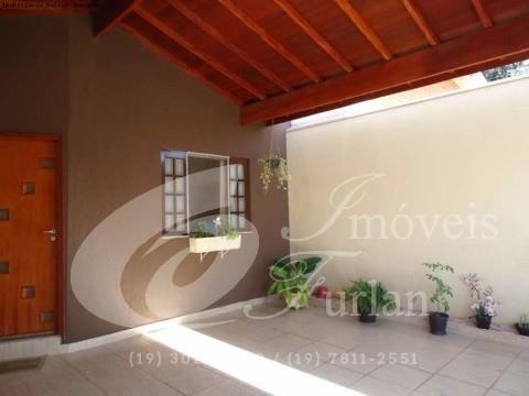 Casa á Venda Vila Homero 3 DORMITÓRIOS, SENDO 1 SUITE, WC, SALA DE TV, COZINHA PLANEJADA, ÁREA DE SERVIÇO, GARAGEM PARA 2 CARROS, PORTÃO ELETRÔNICO R$ 380.000,00 Permuta por apartamento até 250 mil (19) 97407-0381