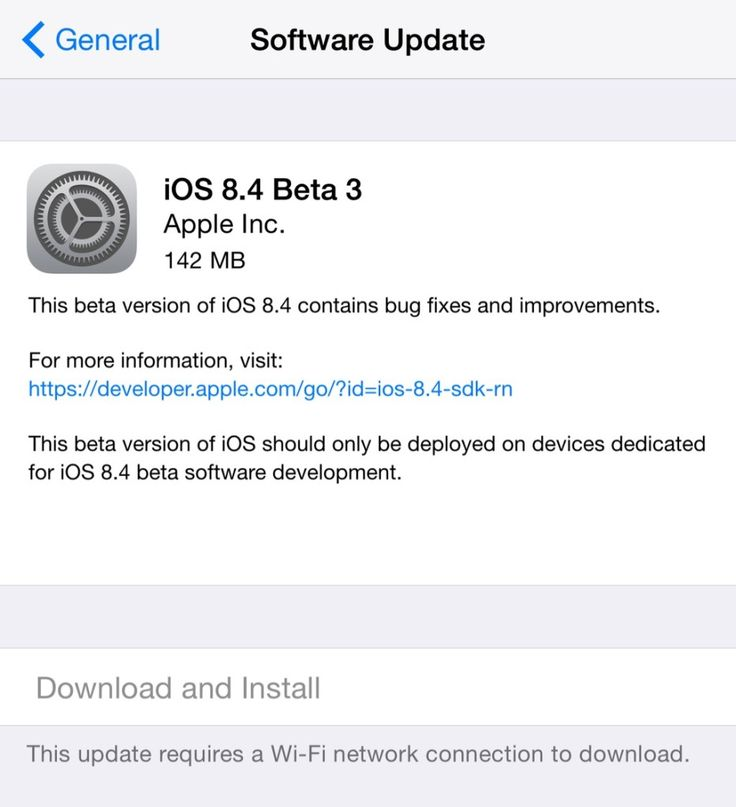 Apple's latest iOS 8.4 Beta3 is now available