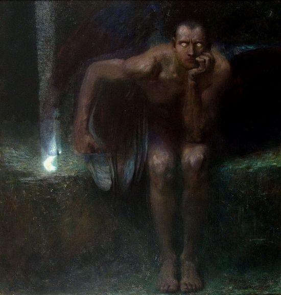 Franz Von Stuck,Lucifer, 1891