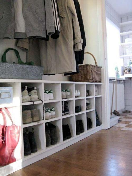 Flurgestaltung – 40 schlaue und platzsparende Lösungen für Ihr Zuhause