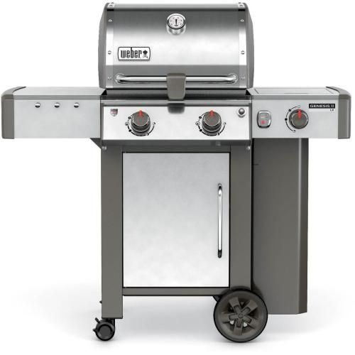 Weber Genesis Ii S 310 Propane Gas Grill Stainless Steel 61001001 Natural Gas Grill Propane Gas Grill Gas Grill