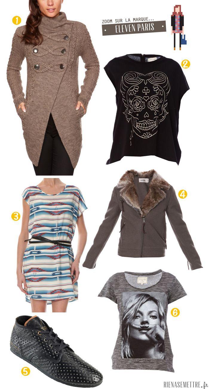 SELECTION | La mode Rock pour Femme selon Eleven Paris  | femme  | Blog Mode | Rien à se Mettre  www.rienasemettre.fr