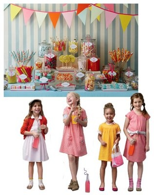Happy & Colorful Kid's party inspiration