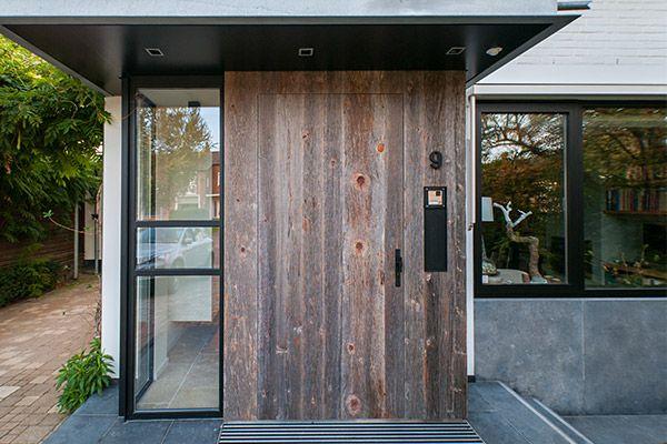 moderne voordeur hout - Google zoeken