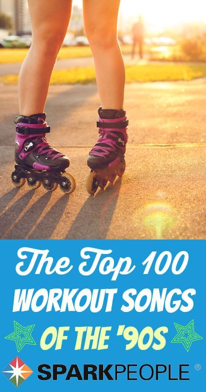 The 100 Best Workout Songs from the '90s. Love a good throwback playlist! | via @SparkPeople #90s #workout #music