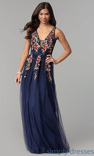 Illusion Prom Dresses, Illusion Designer Evening Gowns