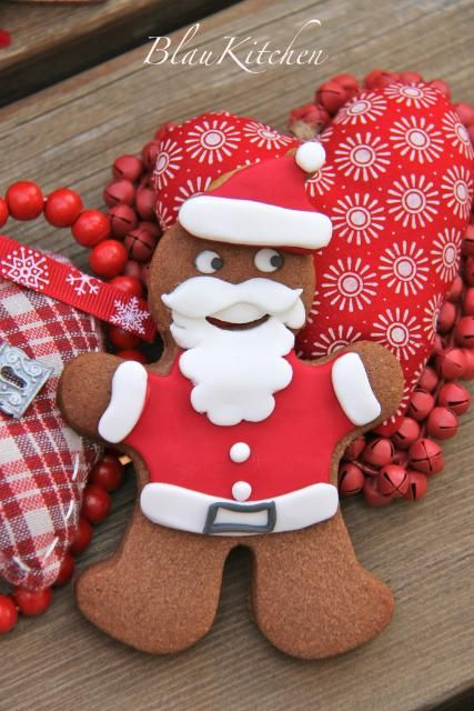 Papá Nöel#Father Christmas#Santa Clause#Cookie