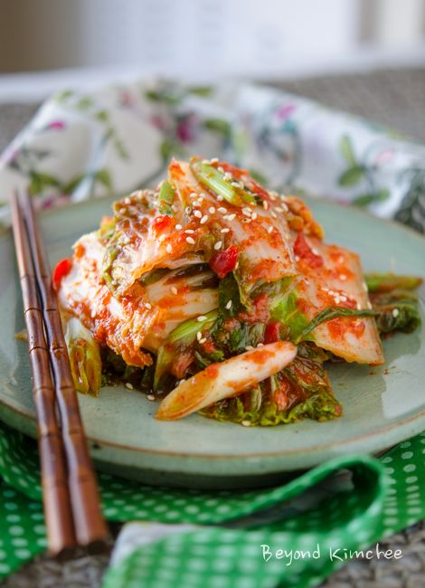 Traditional Korean cabbage kimchi made to a compete vegan kimchi. Photographed instructions follows.