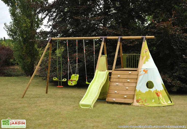 Aire de Jeux Fort Jungle - Soulet | Disponible chez Mon Aménagement Jardin