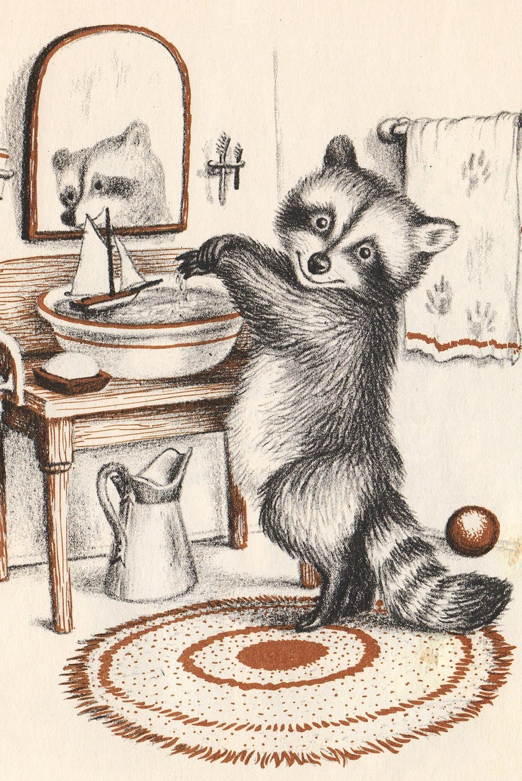"""""""Wait Till the Moon Is Full"""" by Margaret Wise Brown with pictures by Garth Williams - published 1948"""