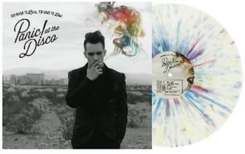 Panic-at-the-Disco-COLORED-Splatter-Vinyl-Too-Weird-To-Live-Too-Rare-To-Die  JUST FANTASISING